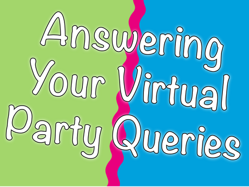 Answering Your Virtual Party Queries | Virtual Birthday Party 2021