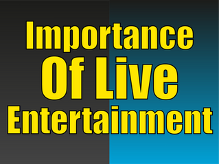 The Importance Of Live Entertainment | Hiring A Magician 2021
