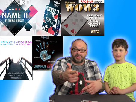 Name It, Random Happenings, Wow Vision and Sensation | Craig & Ryland's Magic Review Show
