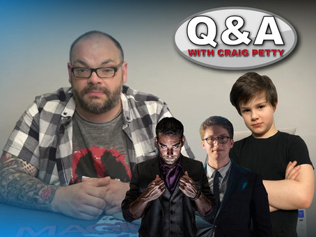 Full Live Virtual Show From Slightly Unusual! | Magic Q&A With Craig Petty