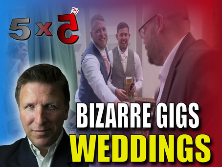 BIZARRE GIGS, Live Wedding Performance, Paul Gordon, Birthday Book & More | Magic TV 5x5