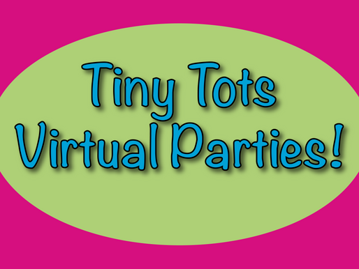 Tiny Tots Virtual Parties | Children's Entertainers With NSK!