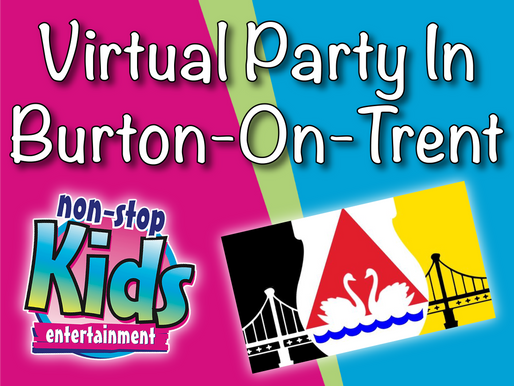 Virtual Party In Burton-On-Trent | Virtual Parties At Home 2021