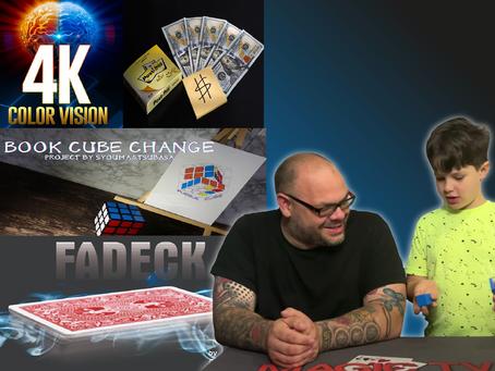 4K Color Vision Box, Fadeck, Book Cube Change Set, Post Trick | Craig & Ryland's Review Show