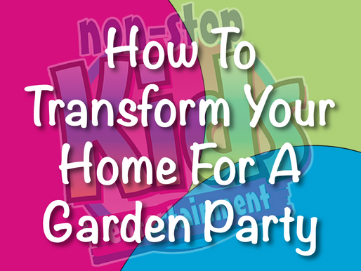 How To Transform Your Home For A Garden Party | Garden Parties Entertainment 2021