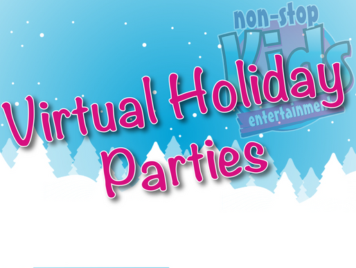 Virtual Holiday Parties | Virtual Christmas Party With Non-Stop Kids 2020