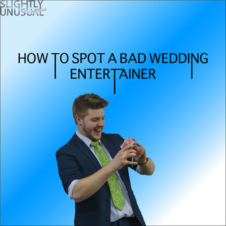 How To Spot A Bad Wedding Entertainer