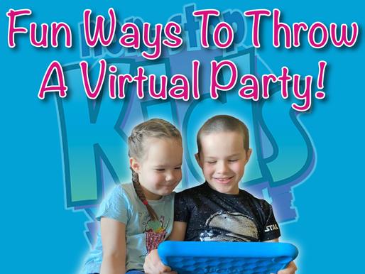 Fun Ways To Throw A Virtual Party | Virtual Birthday Party 2021
