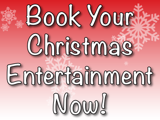 Book Your Christmas Entertainment Now!   Virtual Christmas Entertainment 2020