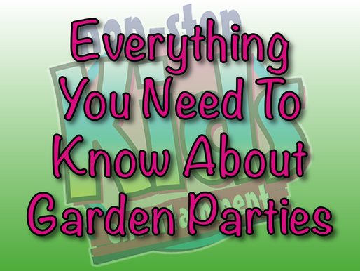 Everything You Need To Know About Garden Parties | Garden Party Ideas 2021