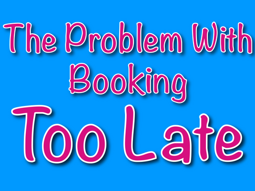 The Problem With Booking Too Late | Non-Stop Kids Children's Entertainers 2021
