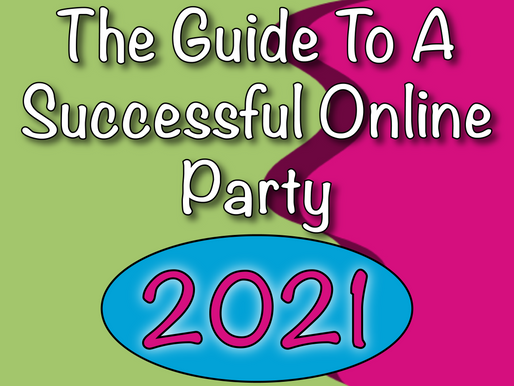 Virtual Birthday Party | The Guide To A Successful Online Party 2021