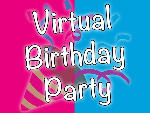 Virtual Birthday Party | The Perfect Online Birthday Party Experience 2020