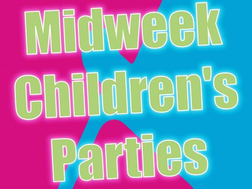 Midweek Children's Parties | Non-Stop Kids Children's Entertainment 2021