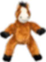 Neddy The Horse teddy bear used for a teddy tastic package