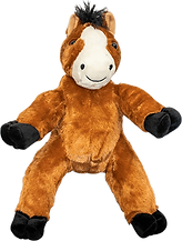 Neddy The Horse teddy bear used for a teddy tastic package