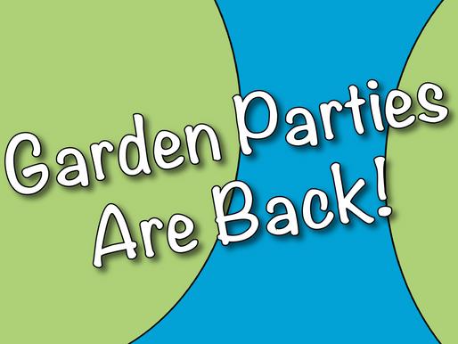 Garden Parties Are Back! | Garden Party Ideas With Non-Stop Kids 2021