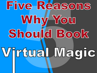 Five Reasons Why You Book Virtual Entertainment With Slightly Unusual | Virtual Magic Show 2021