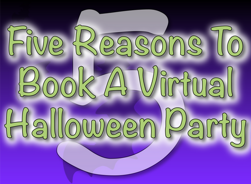 Five Reasons To Book A Virtual Halloween Party | Virtual Parties 2020