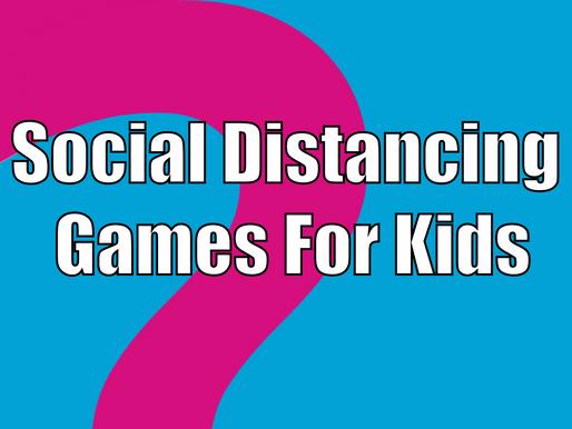 Social Distancing Games For Kids | Outdoor Garden Parties 2020
