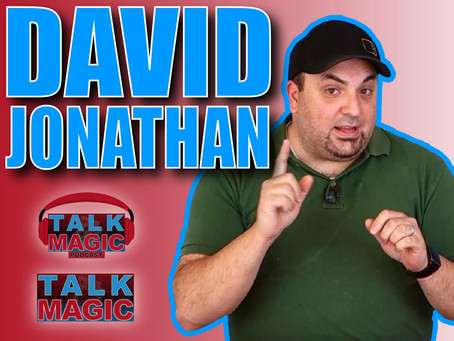 Talk With David Jonathan | This Interview Is A Masterclass In Creativity!
