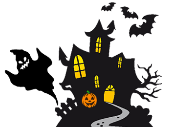 Halloween illustration design for non stop kids