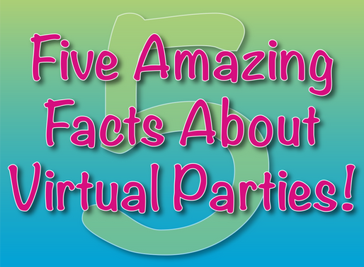 Five Amazing Facts About Virtual Parties! | Children's Entertainment With NSK 2020