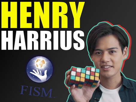 Henry Harrius  | Talk Magic With The King Of Rubik Cube Magic & FISM Winner