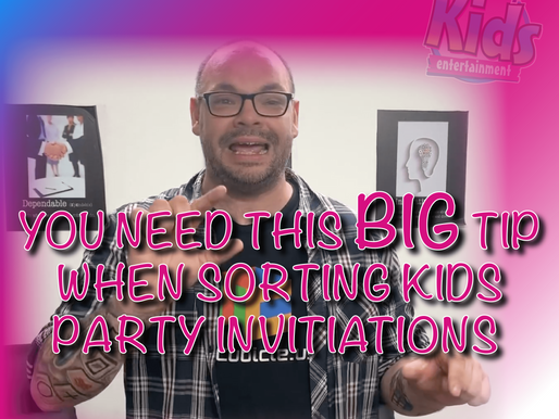 The BEST Tip On Inviting Your Kid's Friends To Your Child's Party! - Vlog