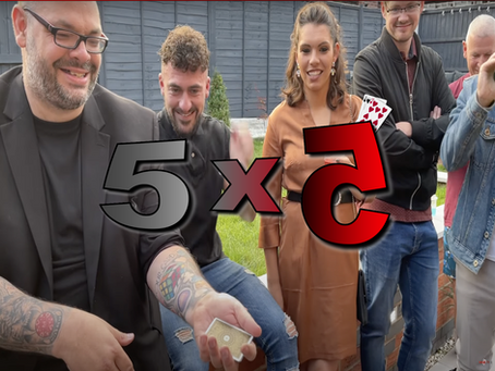 Talking Paul Green, Jay Sankey, Switch One, Audience Management & More | Magic 5x5