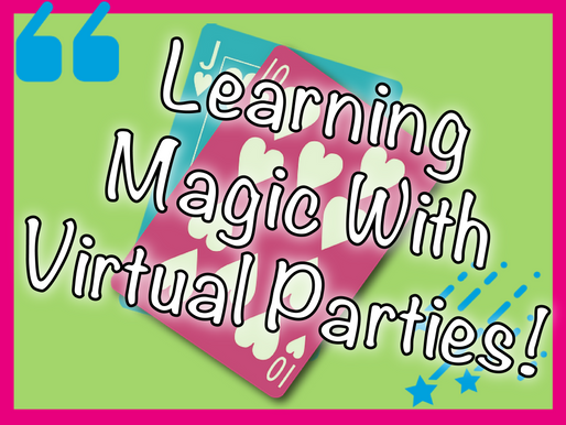 Learning Magic With Virtual Parties | Kids Party Ideas 2020
