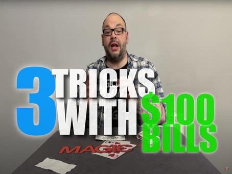 3 Tricks With The $100 Bill Switch You Have Probably Never Seen Before | Magic Stuff With Craig