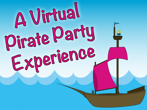 A Virtual Pirate Party Experience With NSK! | Virtual Birthday Party 2021