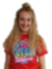 blonde female kids entertainer