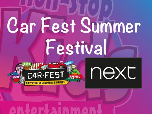 Car Fest Summer Festival - Kids Entertainment 2019
