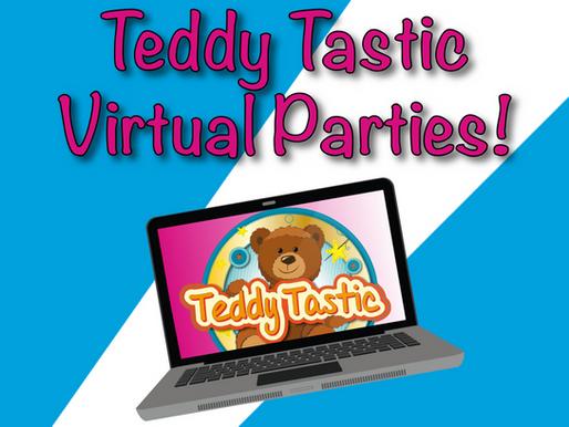 Teddy Tastic Virtual Parties | Non-Stop Kids Entertainment 2020!