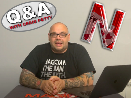 Launch Of The Netrix, Coin Magic, Live Performances, YouTube Magic & More | Q&A With Craig Petty