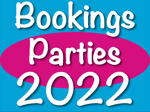 Bookings Parties In 2022 | Securing Your Children's Entertainment For Next Year