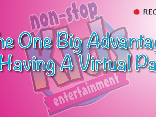 The One Big Advantage To Having A Virtual Party - Vlog!