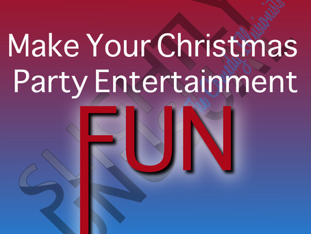 How To Make Your Christmas Party Entertainment Fun