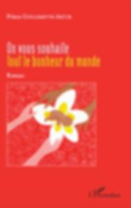 enfant polynésien fa'a'amu fleur frangipanier polynésie française