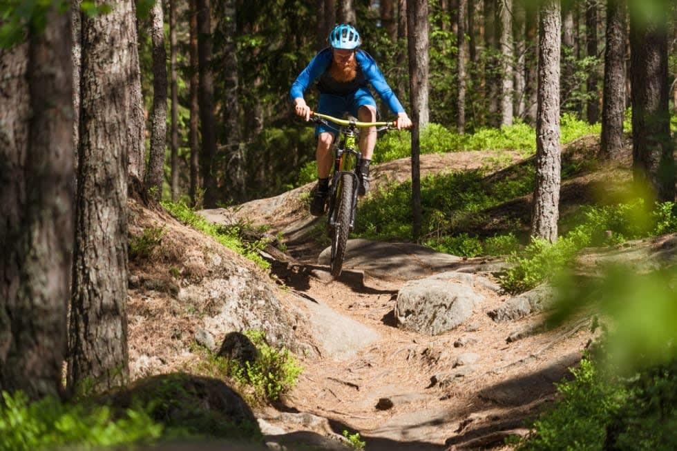 Flott terreng for sykkel