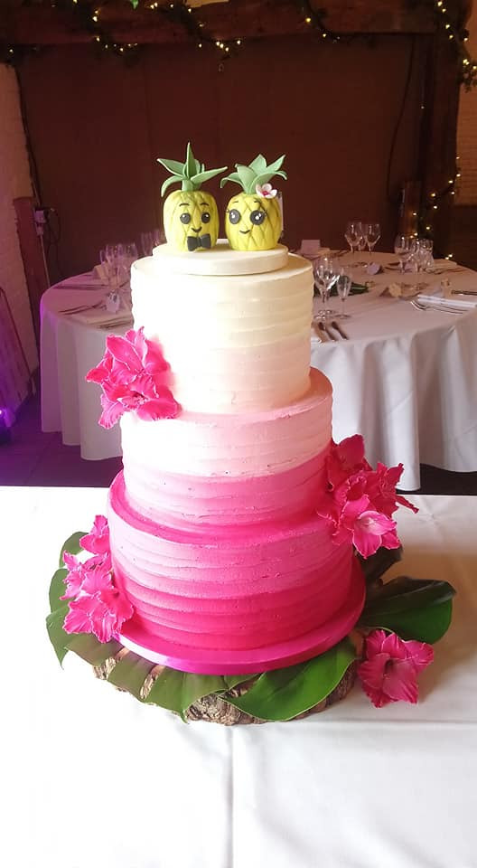 buttercream-wedding-cake-pink
