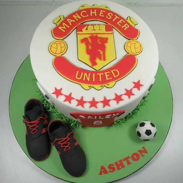Man Utd Cake