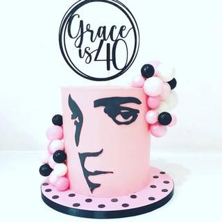 Elvis Presely Cake
