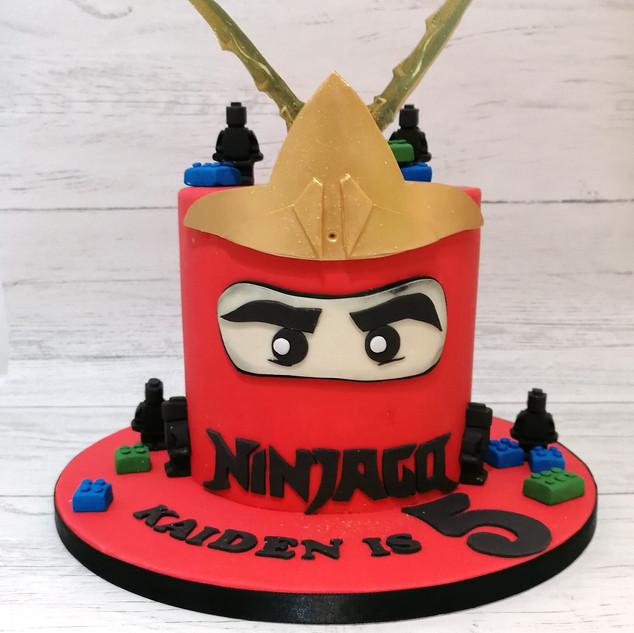 Ninja Jargo Cake
