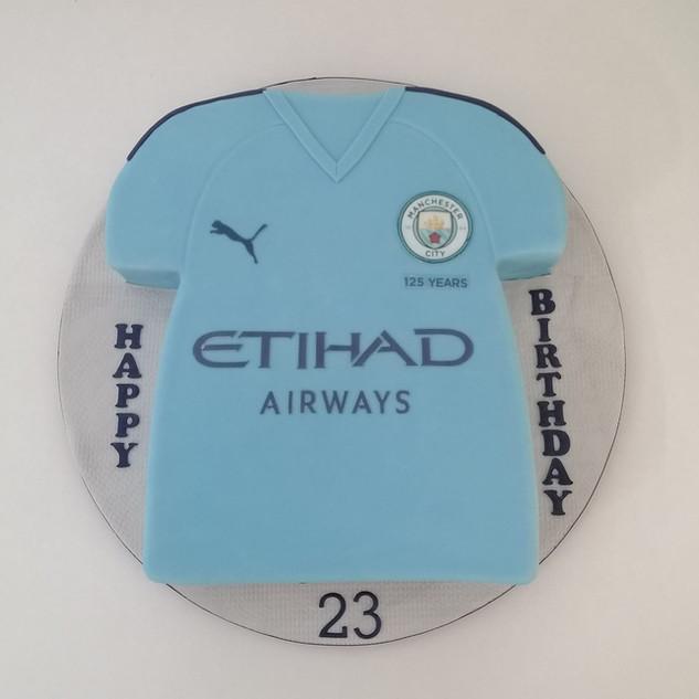 Man City Cake
