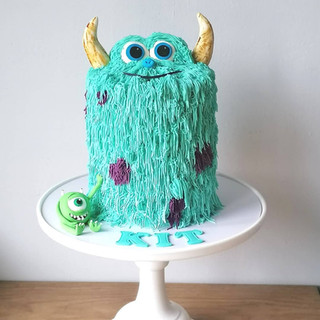 Sulley & Mike Cake