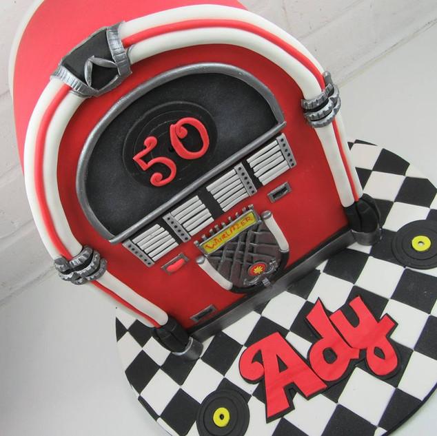 Jukebox Cake