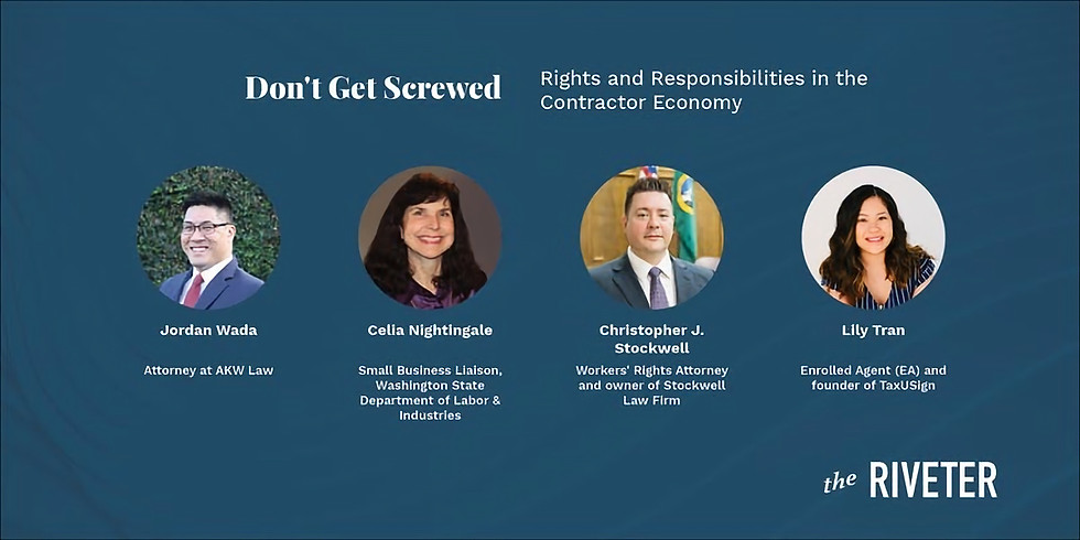 Don't Get Screwed: Rights and Responsibilities in the Contractor Economy